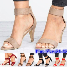 Summer, Plus Size, Women Sandals, heelsforwomen