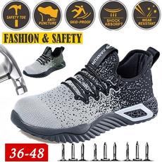 Steel, kevlar, Sneakers, Plus Size
