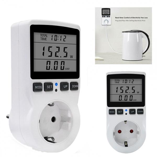 powermetersocket, electricitysocketanalyzer, Home & Living, monitorsanalyzer