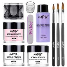 pink, nail tips, Beauty, Nail Polish
