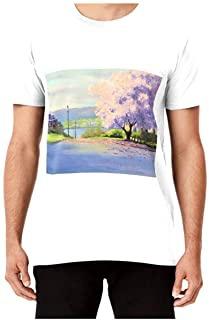 plantprintedtshirt, Fashion, machinewash, magnolia