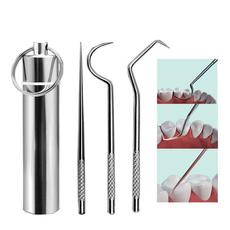 superfine, Steel, flossingtool, Key Chain