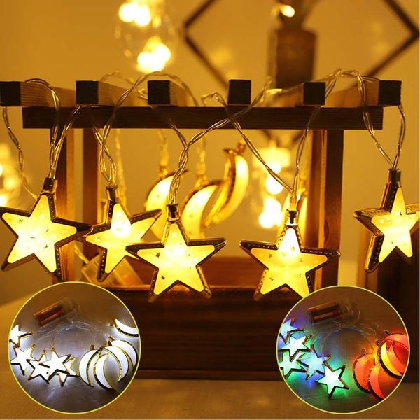 Decor, lampstring, Star, mubarak