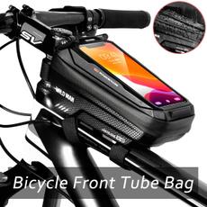 Touch Screen, bicyclefronttubebag, Bicycle, bicycletoptubebag