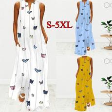 butterfly, Summer, dressesforwomen, dressesforwomencasualsummer