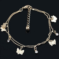 butterfly, charmanklet, Sandals, Jewelry