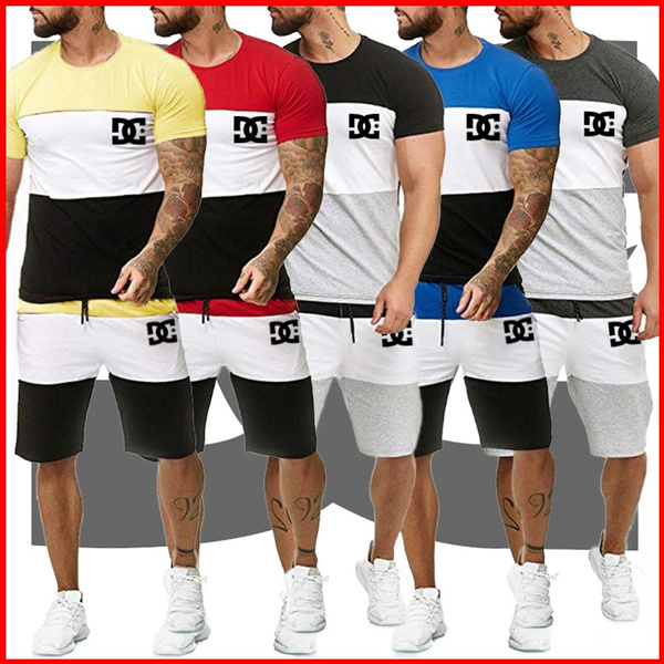 Summer, shortsetformen, Men's Fashion, track suit