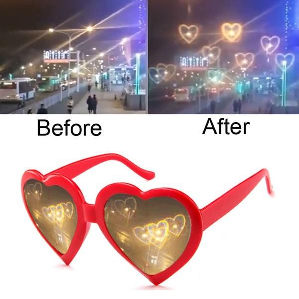Heart, Fashion, Love, lights