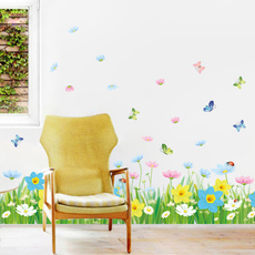 PVC wall stickers, decoration, Flowers, adesivodeparede