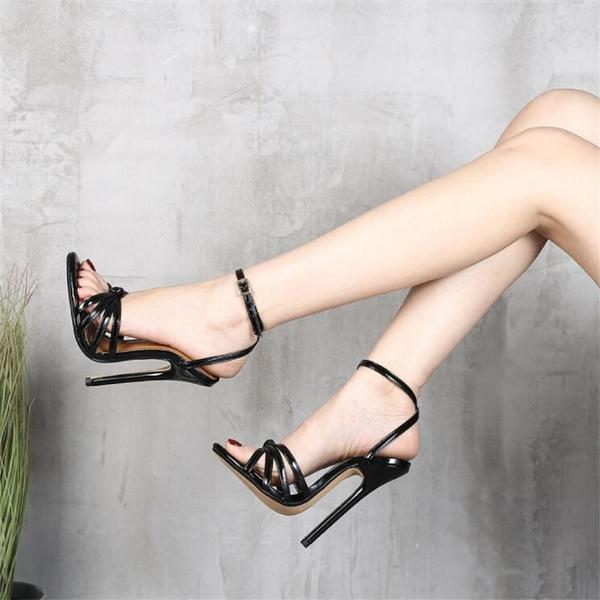 Summer, shoes woman, Cross, Elegant