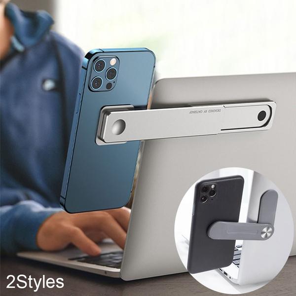 Smartphones, phone holder, Aluminum, Laptop