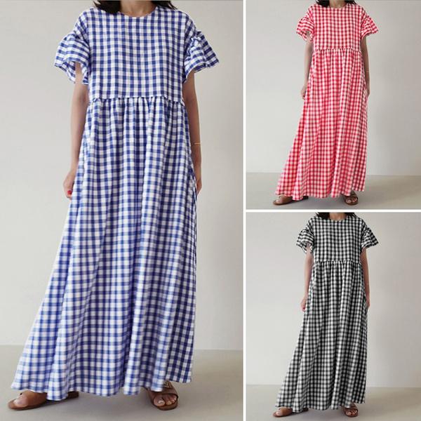 longshirtdres, short sleeve dress, Summer, Dress