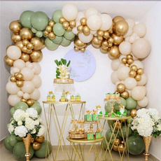 beangreenballoon, Garland, birthdaypartydecoration, balloonarchkit