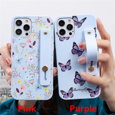 case, butterfly, iphone 5, Wristbands