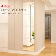 Decor, art, mirrorwallsticker, Stickers