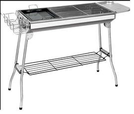 Steel, Charcoal, outdoorcampingaccessorie, Grill