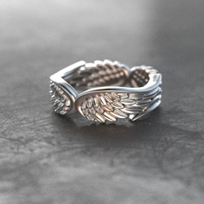 Sterling, wingsandring, angelwing, Jewelry