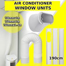 exhausthoseadapter, air conditioner, portableairconditionerwindowkit, windowvent