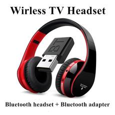 Headset, usbwirelessreceiver, bluetoothtransmitter, TV