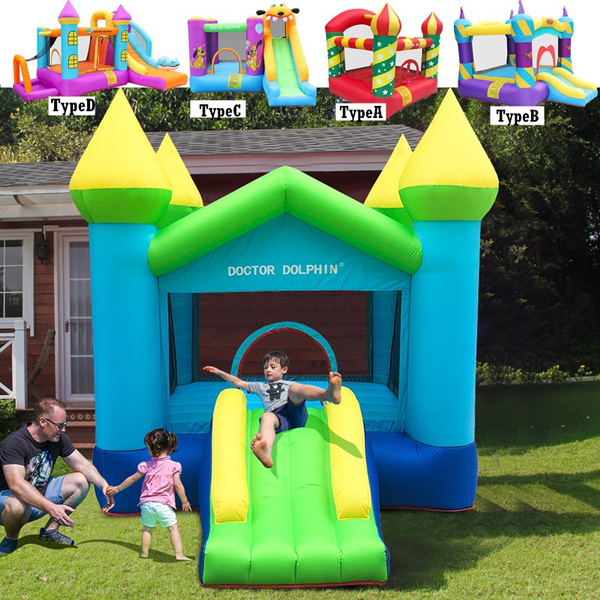 Outdoor, inflatableswimpool, jumpingcastle, house