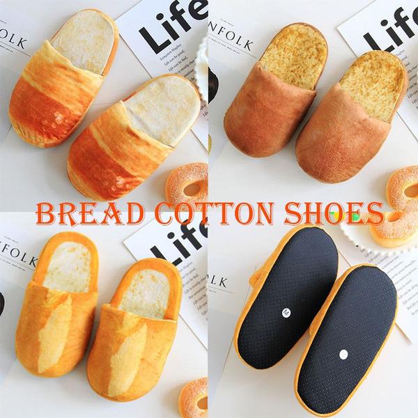 toast, non-slip, cottonpaddedshoe, Fashion
