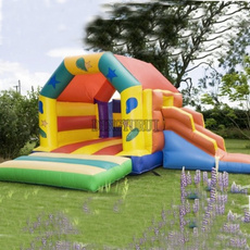 house, Inflatable, trampoline, Castle