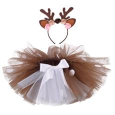 kidsskirt, Flowers, Cosplay, Deer