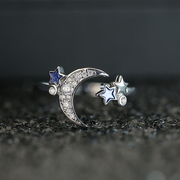 Sterling, DIAMOND, 925 sterling silver, Simple