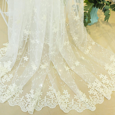 Lace, for, FRENCH, embroidered