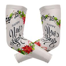 happynewyearchristmasgardenflagarmguard, silk, Christmas, Sleeve