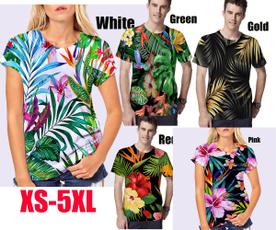 Summer, Fashion, colorfulflowershirt, Hawaiian