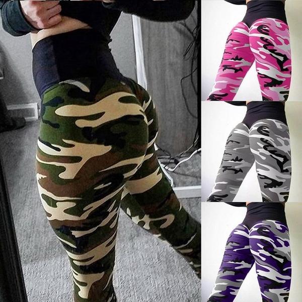 Leggings, elastic waist, Yoga, high waist