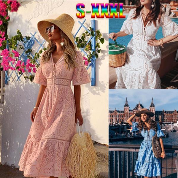 Women S Clothing, Plus Size, Lace, Summer
