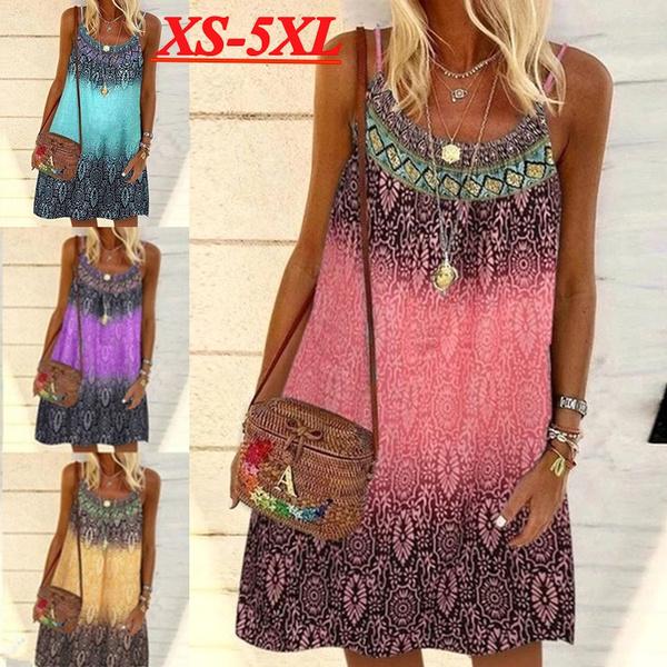Summer, Plus Size, suspenderdre, Dress