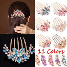 Fashion, headdress, Jewelry, diamondinsertcombhair
