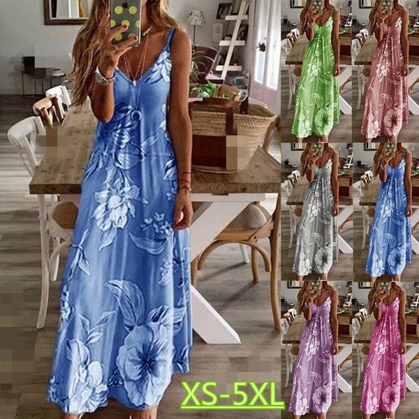 Summer, womens dresses, Spaghetti, Dress