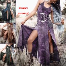 GOTHIC DRESS, Plus Size, Star, Medieval