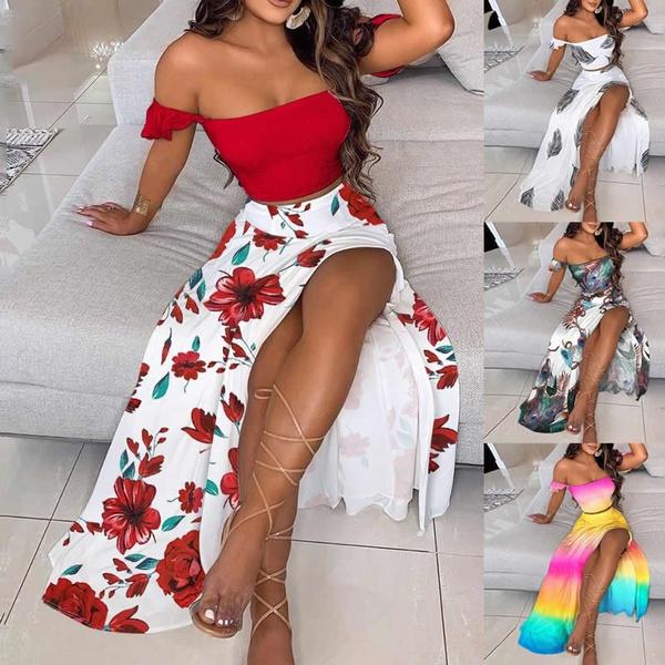 Summer, Plus Size, two piece dress, Dress