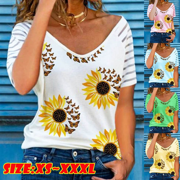 butterfly, cute, Plus Size, Shirt
