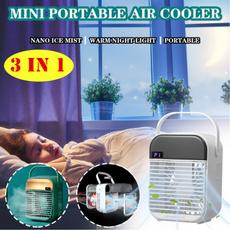 air conditioner, led, usb, portableairconditioner