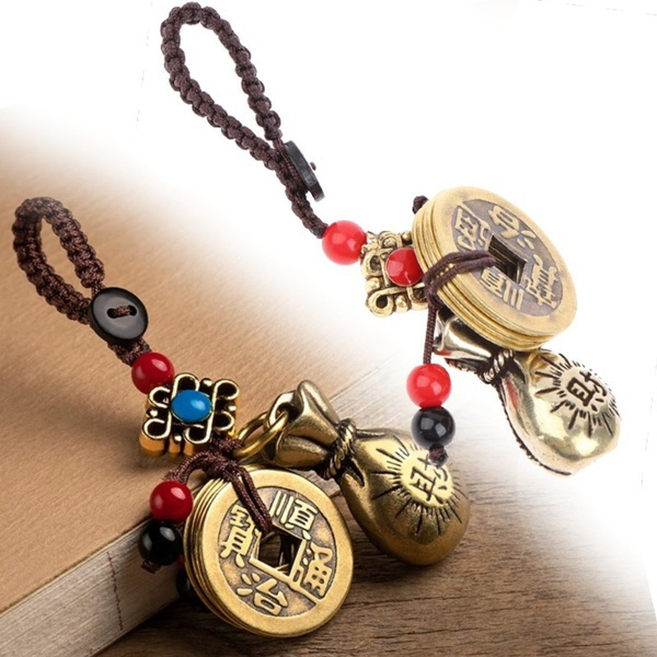 brassmoneybag, Brass, Key Chain, Jewelry