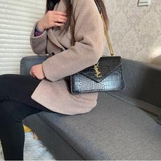 Shoulder Bags, Fashion, Bags, Chain