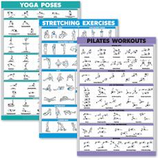 posterset, Yoga, yogapose, Posters