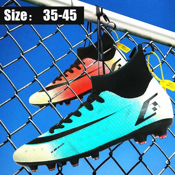 non-slip, Outdoor, soccer shoes, Waterproof