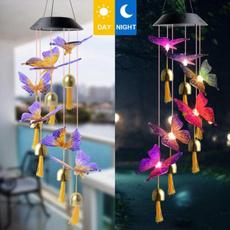 butterfly, windchimehanging, Outdoor, Garden