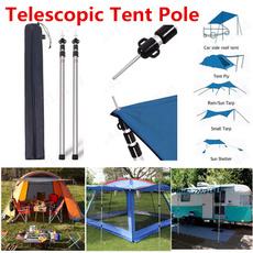rv, Outdoor, campingpole, camping