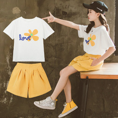 Summer, #Summer Clothes, Two-Piece Suits, fashionchildrensclothing