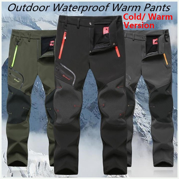 Fleece, Outdoor, camping, Casual pants