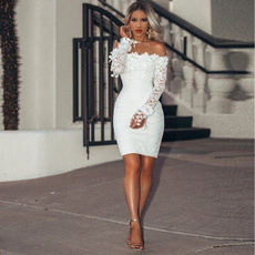 strapless, Fashion, Lace, Sleeve