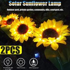 Decor, Outdoor, sunflowersolarlight, Sunflowers
